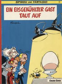 Cover Thumbnail for Spirou und Fantasio (Carlsen Comics [DE], 1981 series) #11 - Ein eisgekühlter Gast taut auf