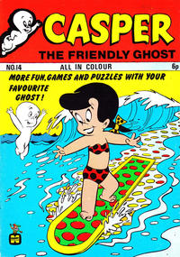 Cover Thumbnail for Casper the Friendly Ghost (Thorpe & Porter, 1973 series) #14