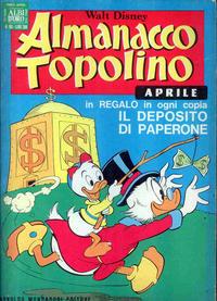 Cover Thumbnail for Almanacco Topolino (Arnoldo Mondadori Editore, 1957 series) #160