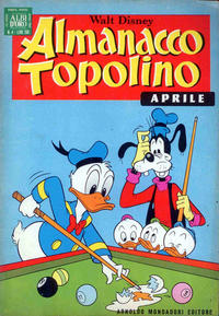 Cover Thumbnail for Almanacco Topolino (Arnoldo Mondadori Editore, 1957 series) #148