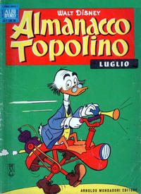 Cover Thumbnail for Almanacco Topolino (Arnoldo Mondadori Editore, 1957 series) #67