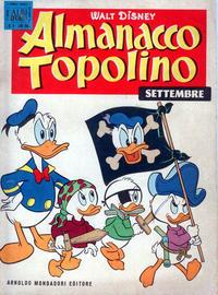 Cover Thumbnail for Almanacco Topolino (Arnoldo Mondadori Editore, 1957 series) #57