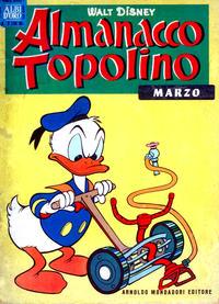 Cover Thumbnail for Almanacco Topolino (Arnoldo Mondadori Editore, 1957 series) #63