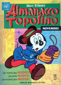 Cover Thumbnail for Almanacco Topolino (Arnoldo Mondadori Editore, 1957 series) #119