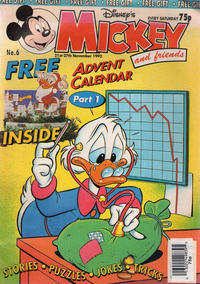 Cover Thumbnail for Mickey and Friends (Fleetway Publications, 1992 series) #6 [1992]