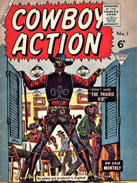 Cover Thumbnail for Cowboy Action (L. Miller & Son, 1956 series) #3