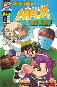 Cover Thumbnail for Small Bodied Ninja High School (Antarctic Press, 1992 series) #5