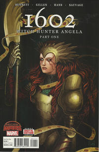 Cover Thumbnail for 1602: Witch Hunter Angela (Marvel, 2015 series) #1