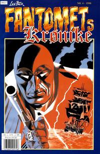 Cover Thumbnail for Fantomets krønike (Hjemmet / Egmont, 1998 series) #4/1998