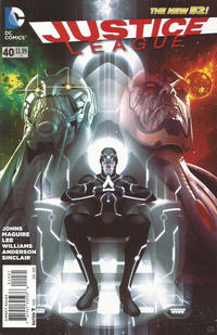 Cover Thumbnail for Justice League (DC, 2011 series) #40 [1:25 Cover Variant]