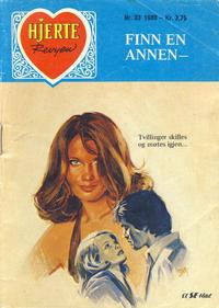 Cover Thumbnail for Hjerterevyen (Serieforlaget / Se-Bladene / Stabenfeldt, 1960 series) #33/1980