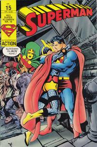 Cover Thumbnail for Superman (Interpresse, 1987 series) #15