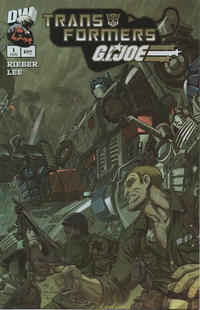 Cover for Transformers / G.I. Joe (Dreamwave Productions, 2003 series) #1