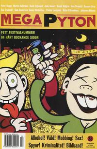 Cover Thumbnail for Mega Pyton (Atlantic Förlags AB, 1992 series) #3/1999 (35)