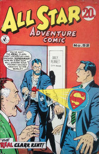 Cover Thumbnail for All Star Adventure Comic (K. G. Murray, 1959 series) #52