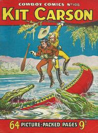 Cover Thumbnail for Cowboy Comics (Amalgamated Press, 1950 series) #108