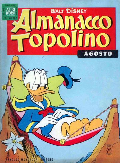 Cover for Almanacco Topolino (Arnoldo Mondadori Editore, 1957 series) #80