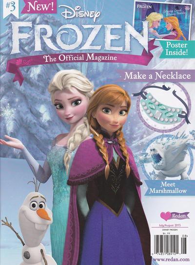 Cover for Frozen Magazine (Redan Publishing Inc., 2015 series) #3