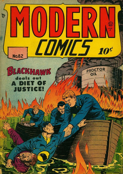 Cover for Modern Comics (Alval Publishers, 1949 series) #82