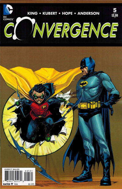 Cover for Convergence (DC, 2015 series) #5 [Andy Kubert Cover Variant]