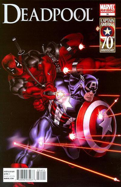 Cover for Deadpool (Marvel, 2008 series) #34