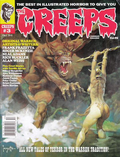 Cover for The Creeps (Warrant Publishing, 2014 series) #3