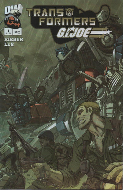 Cover for Transformers / G.I. Joe (Dreamwave Productions, 2003 series) #1 [Cover A]