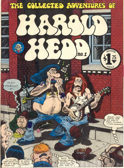 Cover for Harold Hedd (Last Gasp, 1973 series) #1