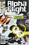 Cover Thumbnail for Alpha Flight (1983 series) #31 [Newsstand Edition]