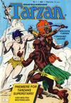 Cover for Tarzan (Atlantic Forlag, 1977 series) #1/1981