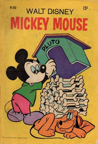 Cover Thumbnail for Walt Disney's Mickey Mouse (W. G. Publications; Wogan Publications, 1956 series) #160