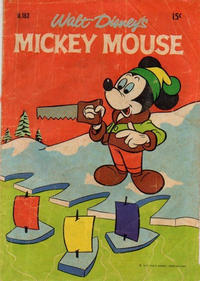 Cover Thumbnail for Walt Disney's Mickey Mouse (W. G. Publications; Wogan Publications, 1956 series) #163