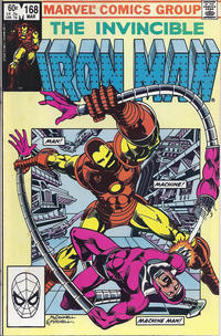 Cover Thumbnail for Iron Man (Marvel, 1968 series) #168 [Direct Edition]