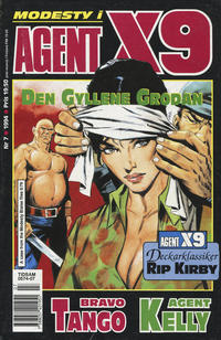 Cover Thumbnail for Agent X9 (Semic, 1971 series) #7/1994