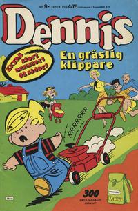 Cover Thumbnail for Dennis (Semic, 1969 series) #9/1978