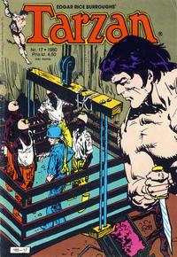 Cover Thumbnail for Tarzan (Atlantic Forlag, 1977 series) #17/1980
