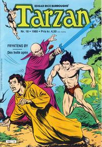 Cover Thumbnail for Tarzan (Atlantic Forlag, 1977 series) #18/1980