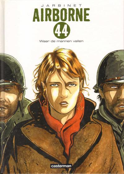 Cover for Airborne 44 (Casterman, 2010 series) #1 - Waar de mannen vallen