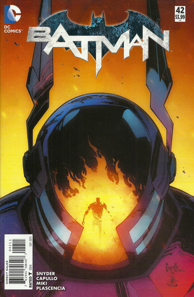 Cover for Batman (DC, 2011 series) #42 [Direct Sales]