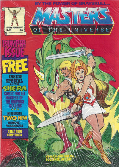 Cover for Masters of the Universe (Egmont UK, 1986 series) #12