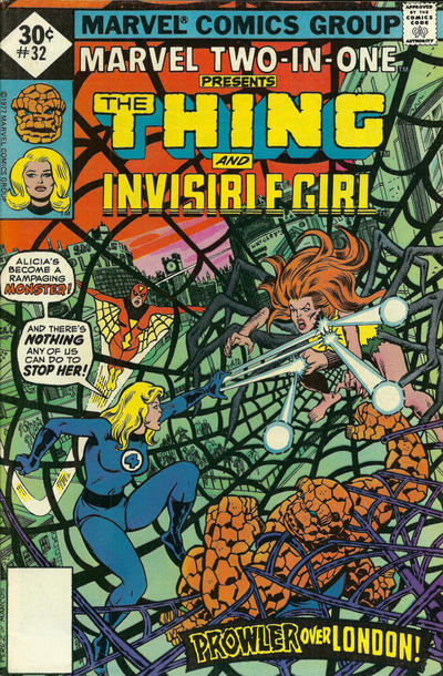 Cover for Marvel Two-in-One (Marvel, 1974 series) #32 [30¢]