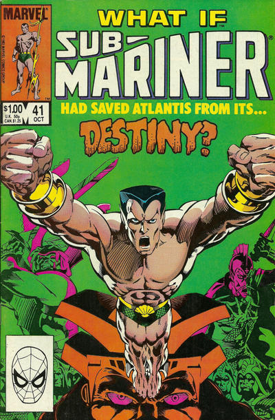 Cover for What If? (Marvel, 1977 series) #41 [Direct]
