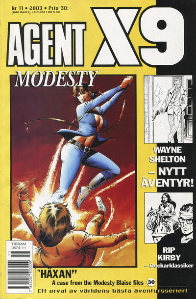 Cover for Agent X9 (Egmont, 1997 series) #11/2003