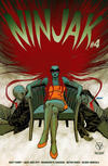 Cover for Ninjak (Valiant Entertainment, 2015 series) #4 [Cover B - Dave Johnson]