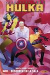 Cover for 100% Marvel. Hulka (Panini España, 2014 series) #2 - Desorden en la sala