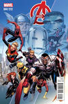 Cover Thumbnail for Avengers (2013 series) #44 [Jim Cheung End of an Era Variant]