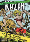 Cover for Ka-Zar (Winthers Forlag, 1983 series) #1