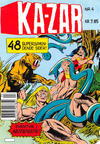 Cover for Ka-Zar (Winthers Forlag, 1983 series) #4