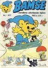 Cover for Bamse (Atlantic Forlag, 1977 series) #1/1977
