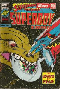 Cover Thumbnail for Superman Presents Superboy Comic (K. G. Murray, 1976 ? series) #101